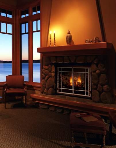 Mendota DVX 35/45 gas fireplaces - Long Island, NY - Taylor's Hearth & Leisure