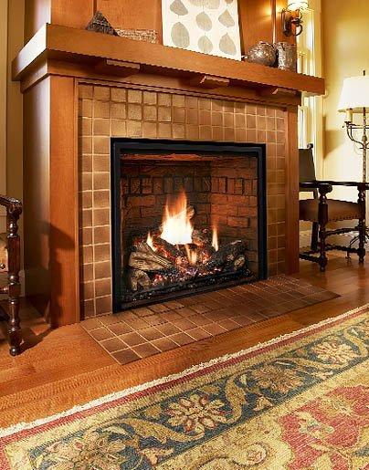 Mendota Fullview 41/46 gas fireplace - Long Island, NY - Taylor's Hearth & Leisure