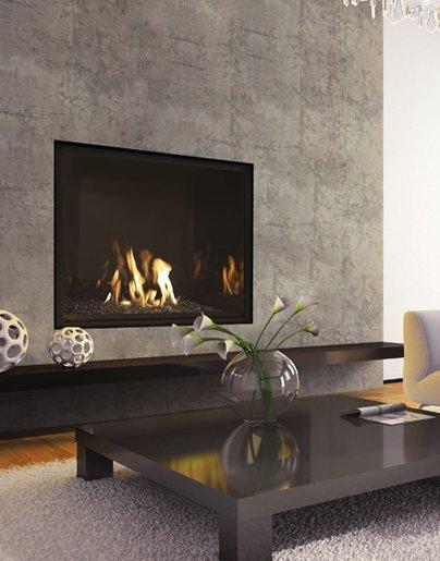 mendota fullview modern gas fireplaces - Long Island, NY - Taylor's Hearth & Leisure