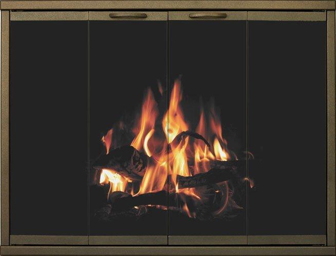 glass fireplace doors - Nassau County, NY