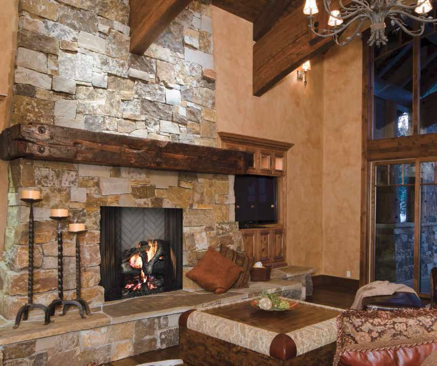 Majestic wood burning fireplaces - Nassau County, NY