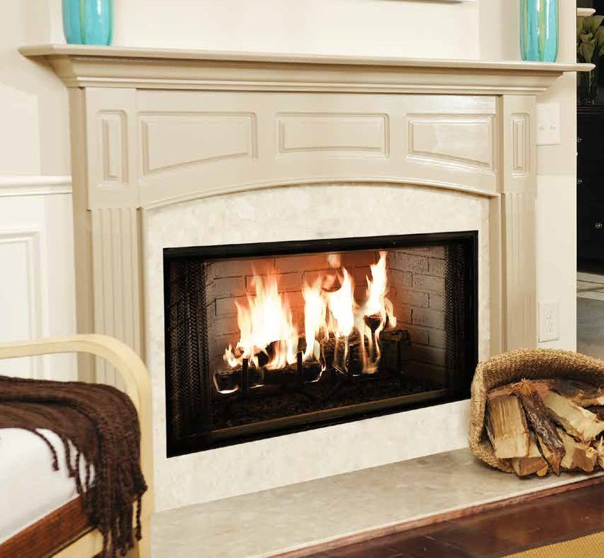 wood burning fireplaces - Long Island, NY