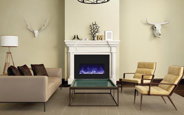 modern electric fireplaces - Nassau County, NY