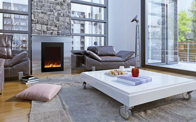 modern electric fireplaces - Long Island, NY