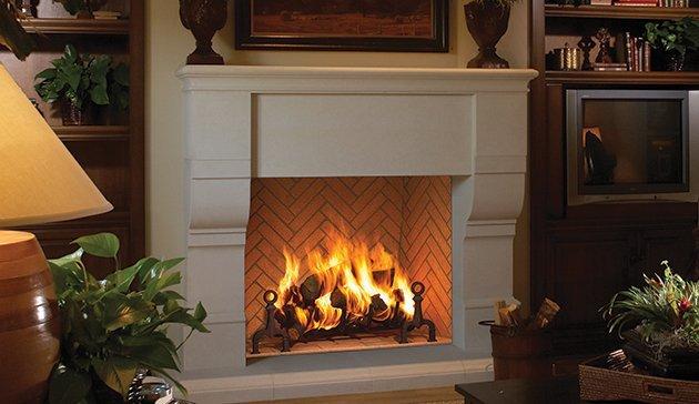 wood burning fireplaces - Long Island, NY