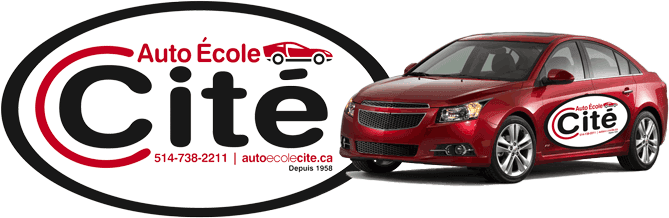 City Driving School Montreal logo for driver education