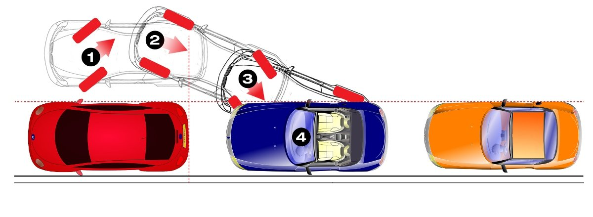 City Driving School in Montreal shows learner drivers expert techniques in parking