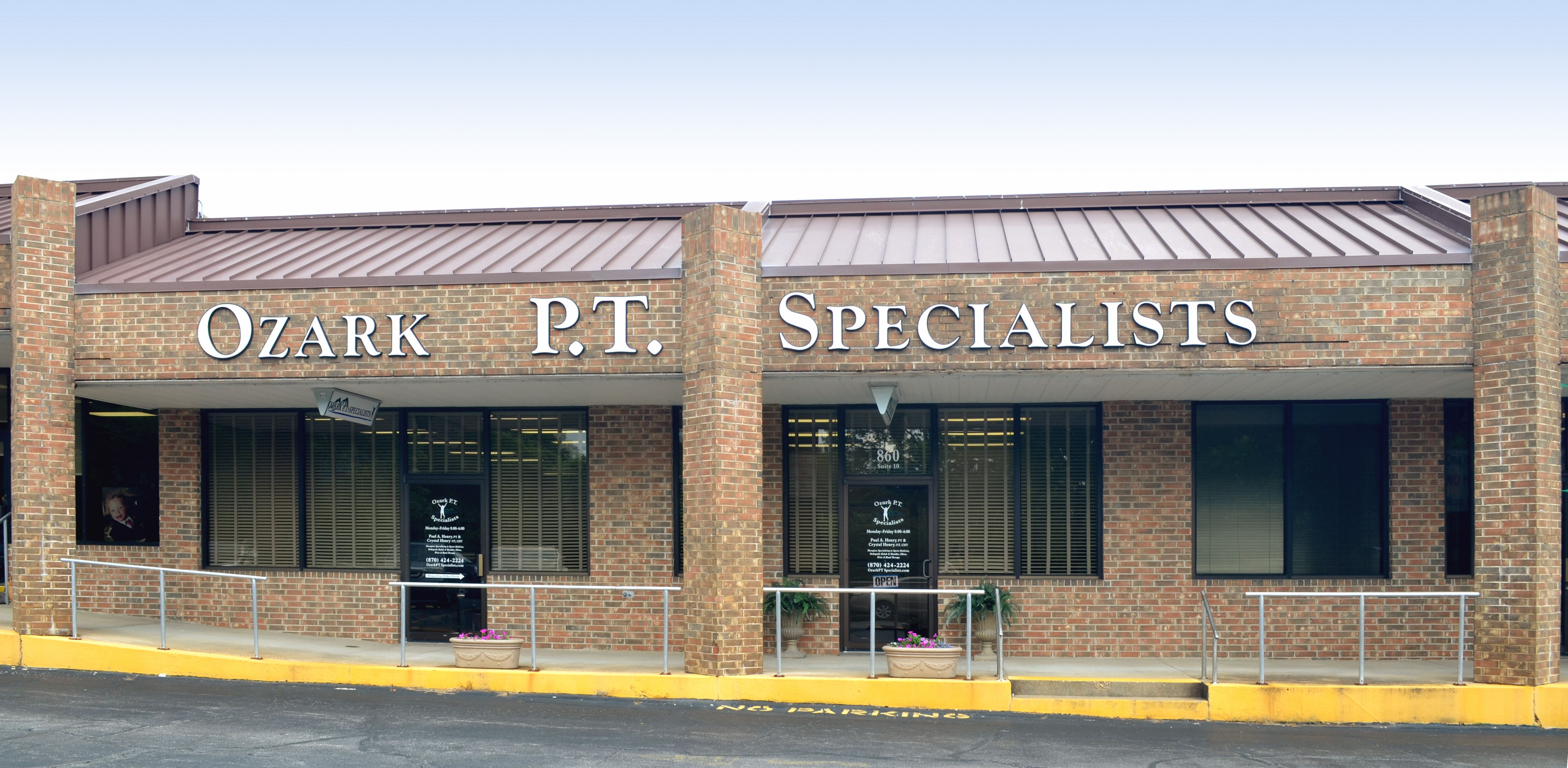 Ozark P.T. Specialists office building