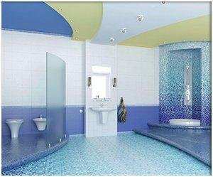corrimal ceramics tiles around swimming pool