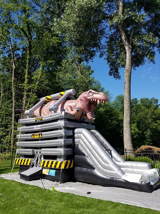 t-rex bounce house rochester,ny