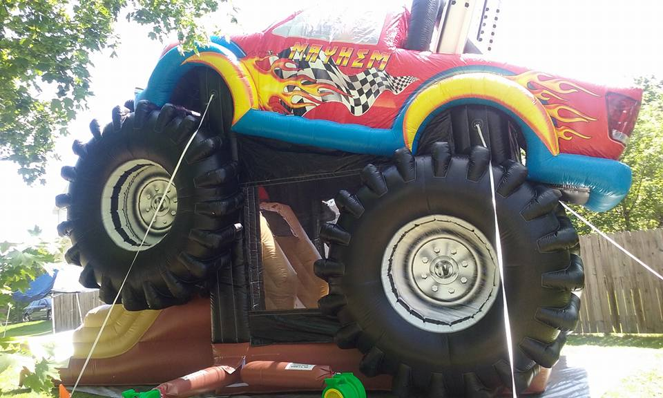 monster truck bounce house rochester,ny