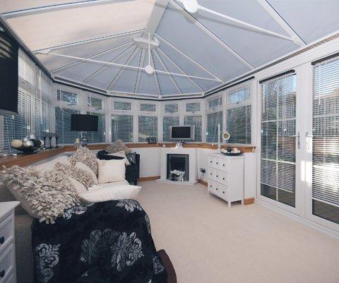 stylish bespoke conservatory