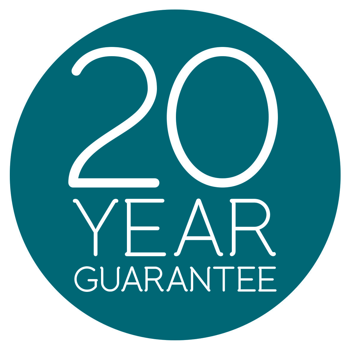 20 YEAR GUARANTEE