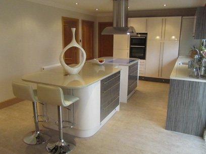 model of a beautiful kitchen