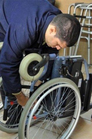 carrozzelle disabili