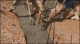 Posa del cemento