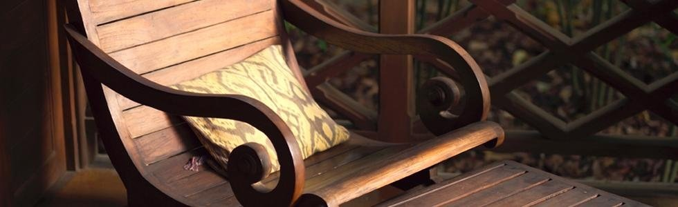sedia legno