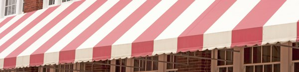 d blinds white pink awnings