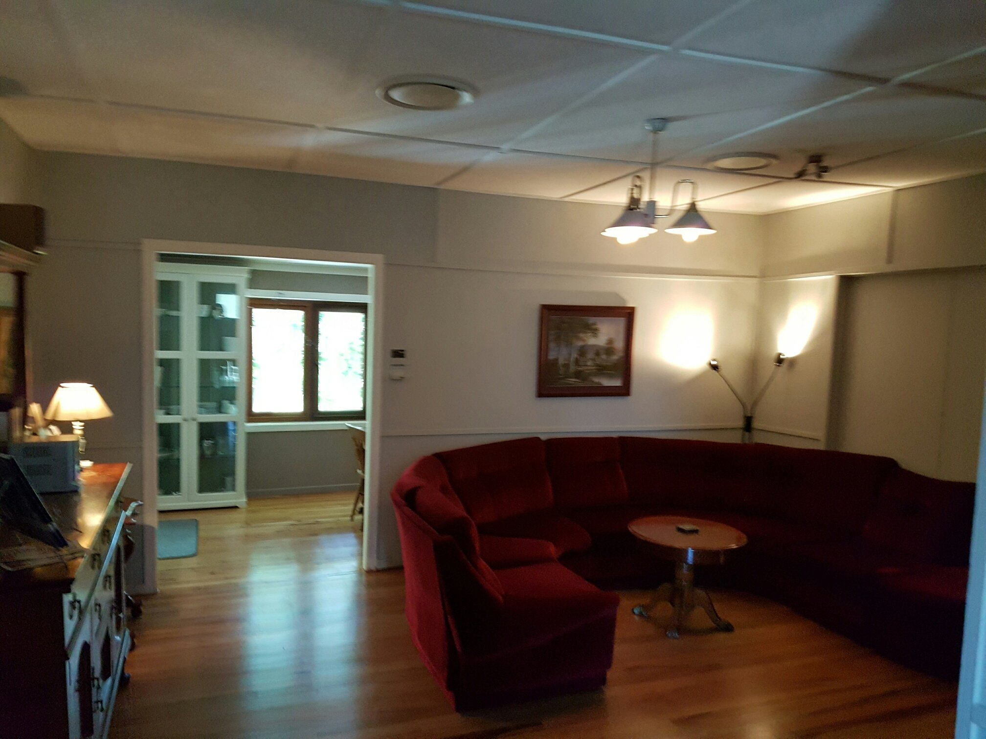 Interior view of the lounge room