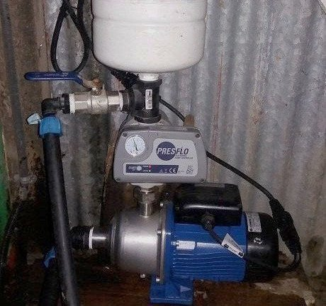 Call us for pump installation
