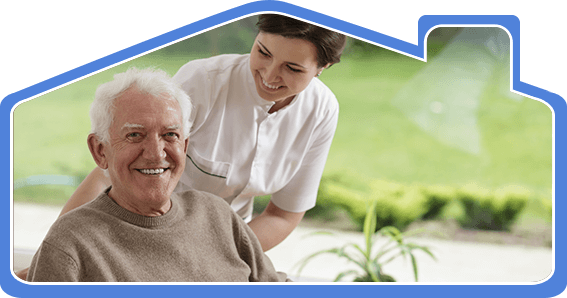 south coast home health care an elderly person smiling