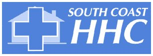 south coast home health care business logo