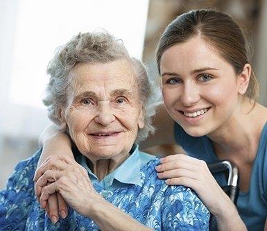 Infermiere per anziani