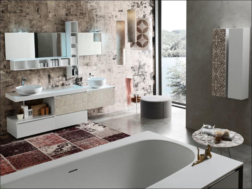 Bagno in stile moderno