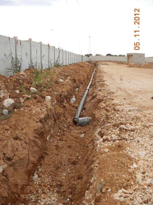 realizzazione impianto idrico antincendio