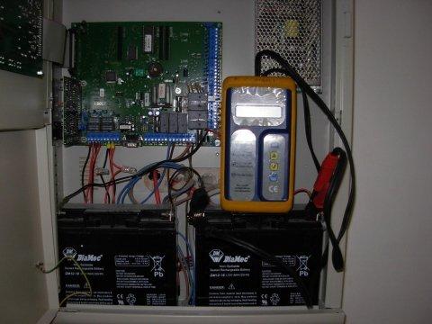 test batterie centrali