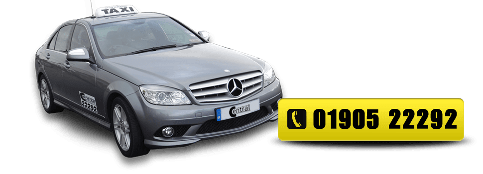 Call Central Taxis On 01905 22292