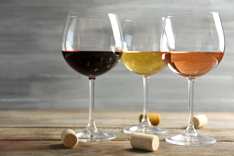 Bicchieri del vino a Velletri