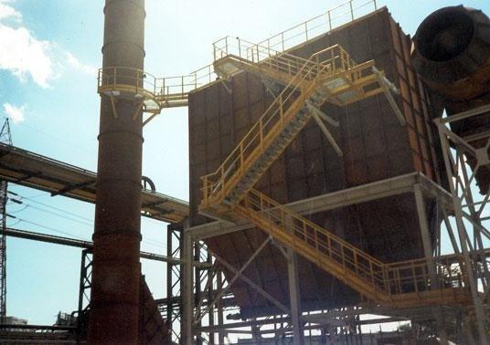 stabilimento siderurgico