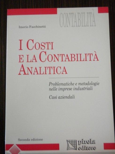 Costi aziendali e contabilità analitica per aziende e società.