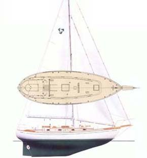 Any construction type - Newport - Nigel R Harrison Yacht Surveys - boat drawing measurement