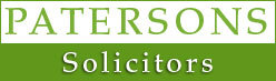 PATERSONS SOLICITORS logo