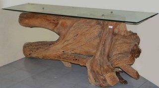 radici di legno riciclato