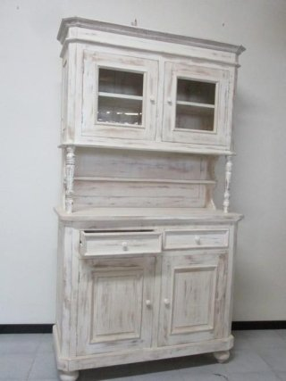 mobile credenza shaby chic decapato bianco
