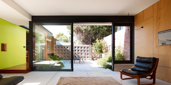 Sliding aluminium doors in Canberra