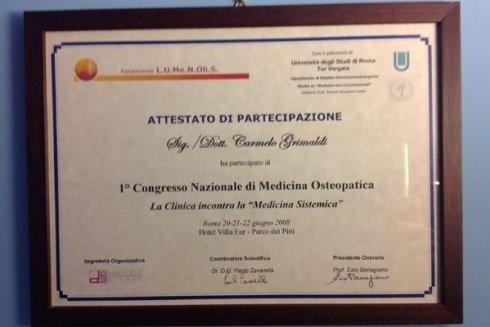 Congresso Nazionale di Medicina Osteopatica