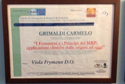 Applicazione cliniche dei principi del MRP