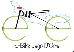 E-BIKE LAGO D'ORTA - LOGO