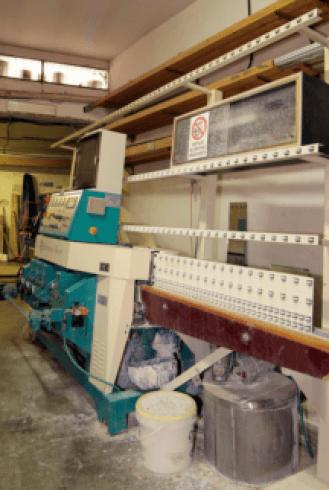 Macchine per la lavorazione del vetro
