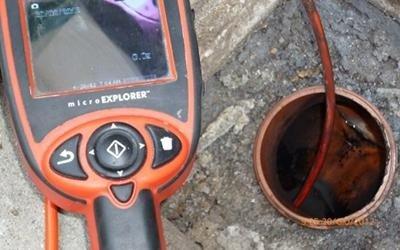 Sonda per ispezione tubo