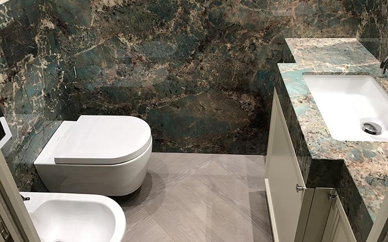 Rivestimenti interni in marmo bergamo trapattoni marmi
