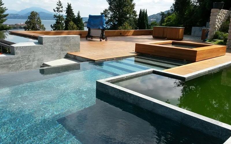 Rivestimenti per piscine a sfioro