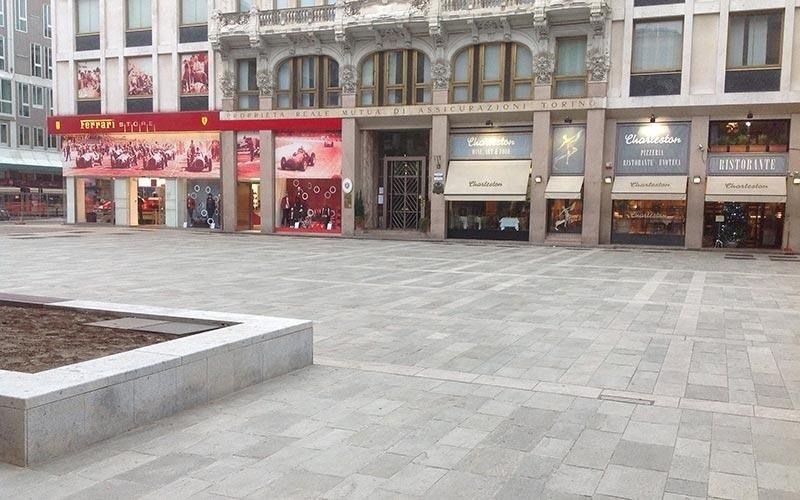 Pavimentazioni in pietra per esterni
