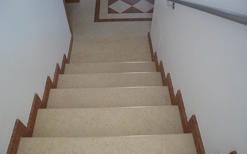 abbastanza Pavimentazioni interne in marmo - Bergamo - Trapattoni Marmi PA09