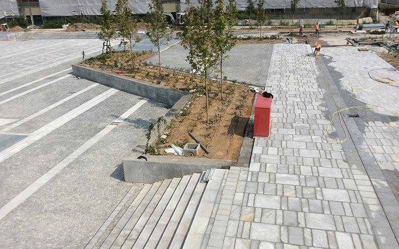 Pavimentazioni pubbliche in pietra