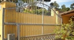 Lavorazione Alluminio-Ferro, La Maddalena (OT), recinzioni